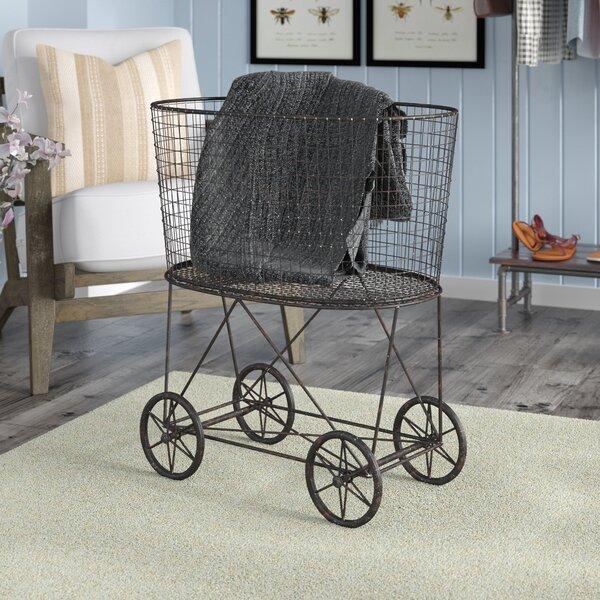 Vintage Laundry Basket by Laurel Foundry Modern Farmhouse