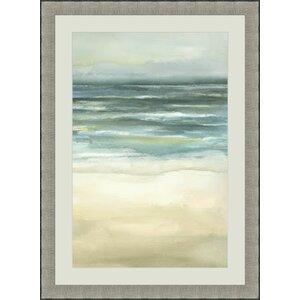 'Sea III' Framed Painting Print by Global Designs
