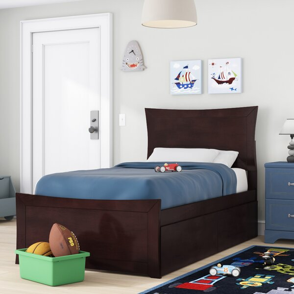 Maryanne Twin Platform Bed with Drawers by Viv + Rae