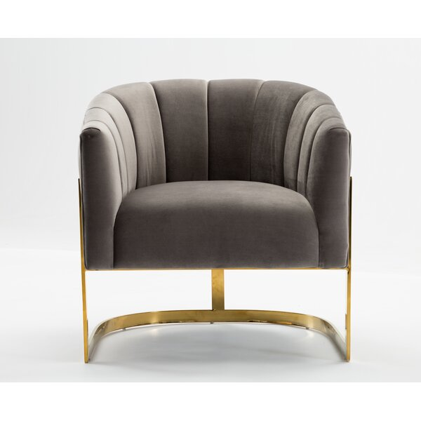 Arsenault Barrel Chair by Mercer41 Mercer41