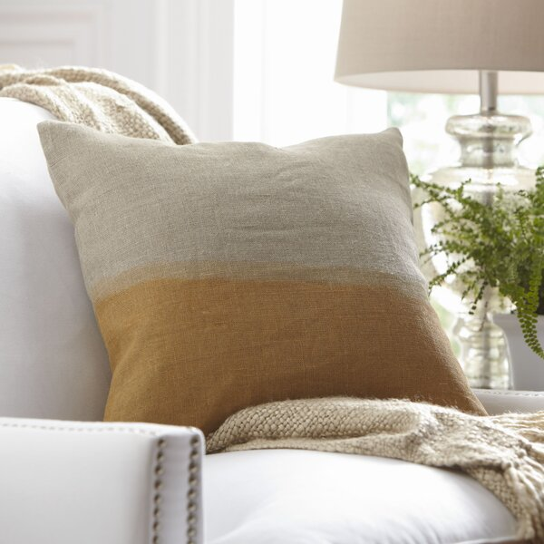 Carson Linen Pillow Cover by Birch Lane™