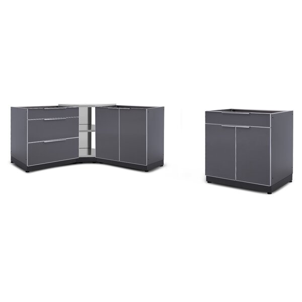 @ Kitchen 4 Piece Outdoor Bar Center Set by NewAge Products| #$2,599.99!