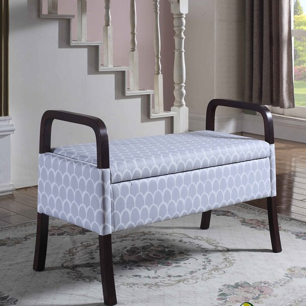 Cannon Upholstered Storage Bench by Latitude Run