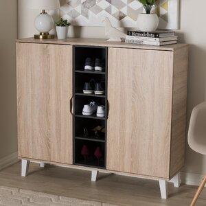 Jamar 38 Pair Shoe Storage Cabinet