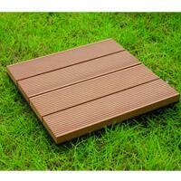 Bamboo Composite 12 x 12 Deck Tiles by Naturesort