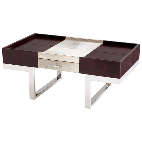 Curtis Coffee Table with Storage by Cyan Design Cyan Design