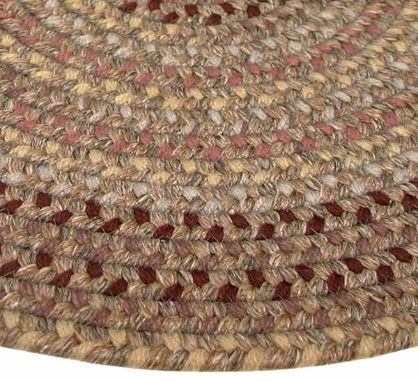Pioneer Valley II Buckskin Octagon Rug by Thorndike Mills
