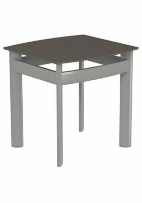Kor Square Aluminum Tea Table by Tropitone