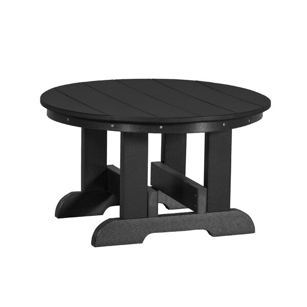 Patricia Plastic/Resin Side Table by Rosecliff Heights
