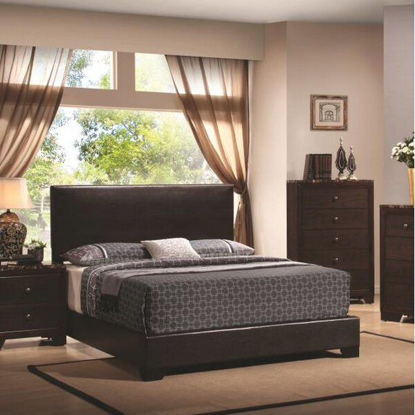 Tanner Upholstered Standard Bed Charlton Home AHST4430