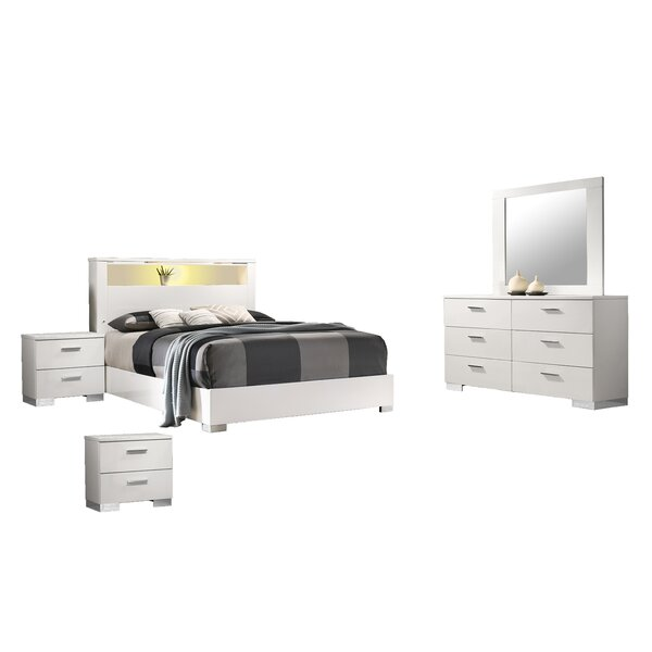 Garrey Platform 5 Piece Bedroom Set by Orren Ellis
