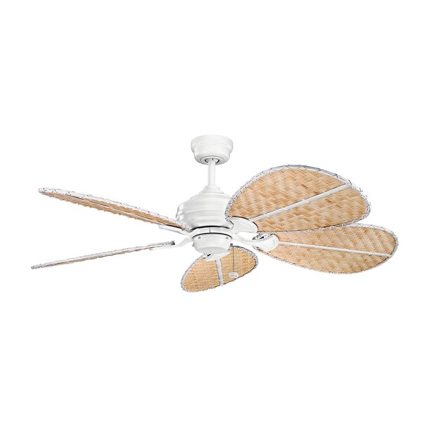 22 Natural Outdoor Ceiling Fan Blade Set (Set of 5) by Bay Isle Home