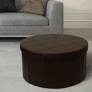 Carrithers Line Folding Storage Ottoman