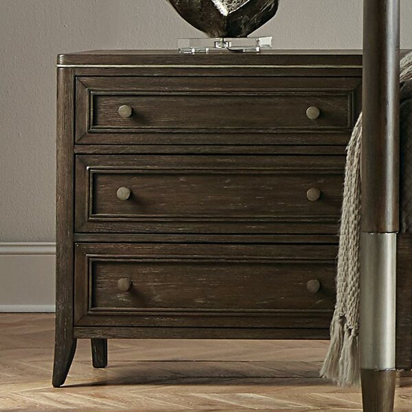 Camp 3 Drawer Nightstand by Brayden Studio