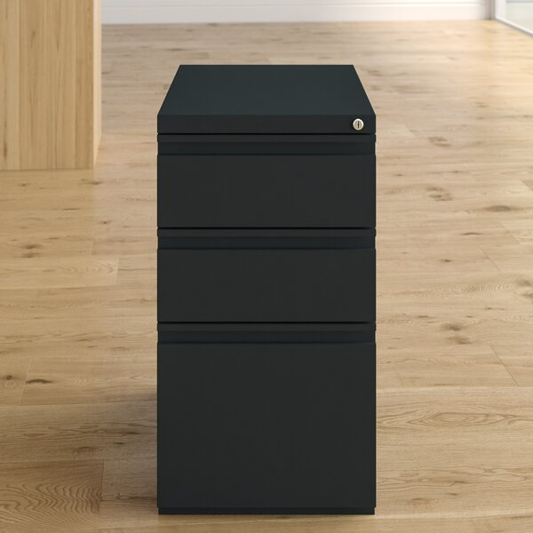 Holyoke 3-Drawer Mobile Pedestal by Latitude Run