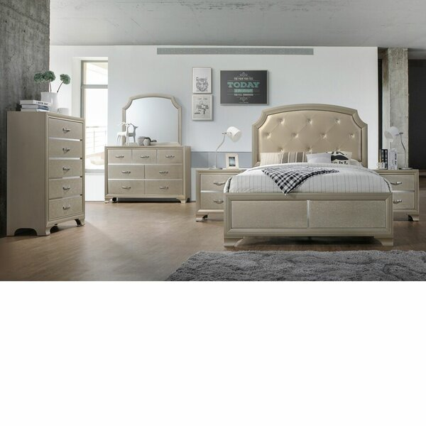 Mcpherson Queen Panel 6 Piece Bedroom Set by House of Hampton
