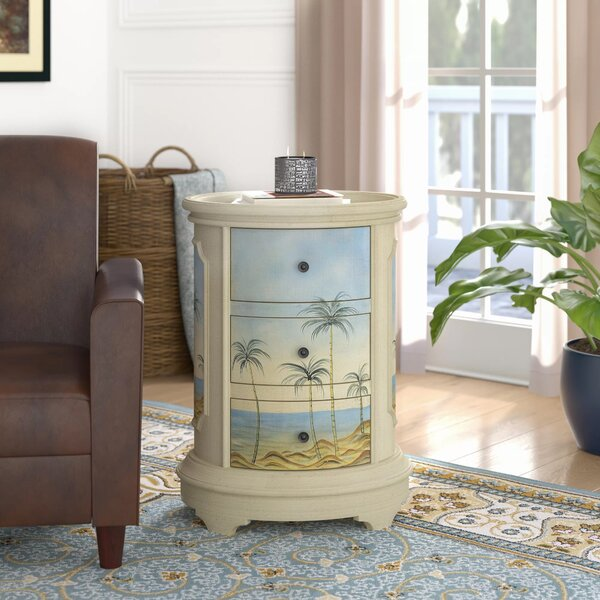 Alfred End Table With Storage By Highland Dunes