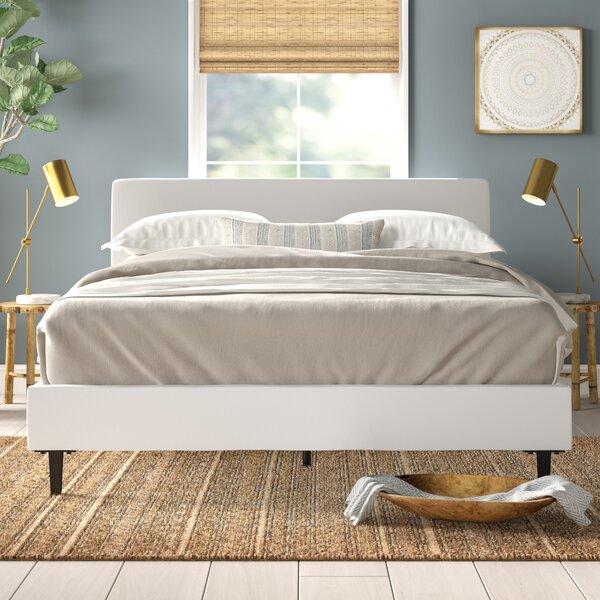 Tomaszewski Vinyl Bed Frame by Mistana