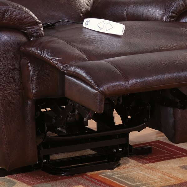 Morgan Power Lift Assist Recliner by Serta Futons