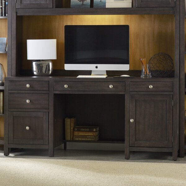 South Park Executive Desk with 5 Drawers by Hooker Furniture