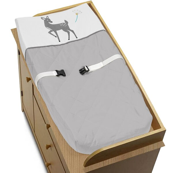 Forest Deer Changing Pad Cover by Sweet Jojo Designs