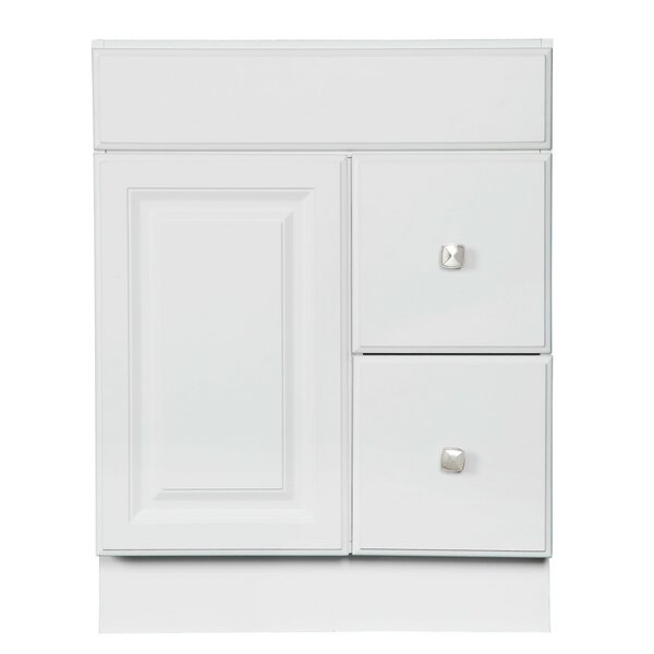 Searle 24'' Single Bathroom Vanity Base Only in White