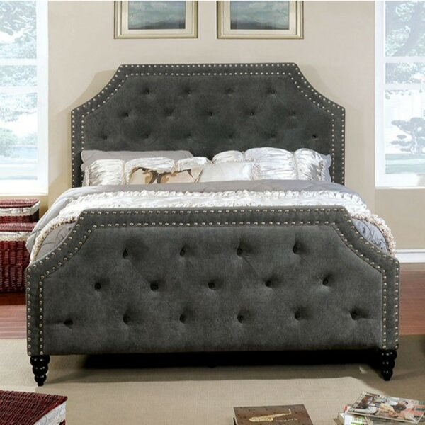 Liriano California King Upholstered Platform Bed by House of Hampton