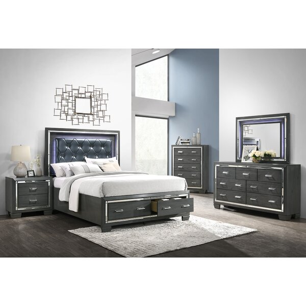 Anthea Platform 5 Piece Bedroom Set by House of Hampton
