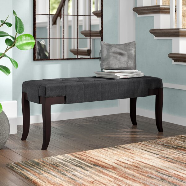 Linion Bench by Roundhill Furniture