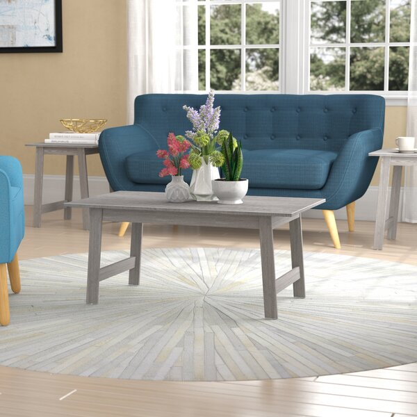 Kona 3 Piece Coffee Table Set by Ebern Designs