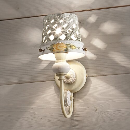 Marwood 1-Light Wall Sconce With Arm August Grove