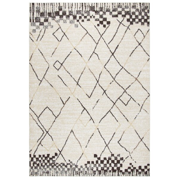 Bowen Beige Area Rug by Bungalow Rose