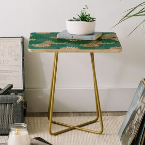 Holli Zollinger Flora Minted End Table by East Urban Home