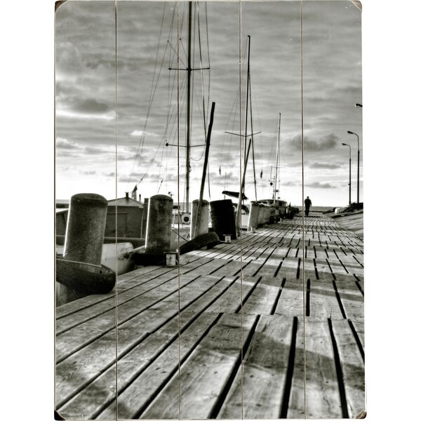 On the Dock Photographic Print Multi-Piece Image on Wood by Artehouse LLC