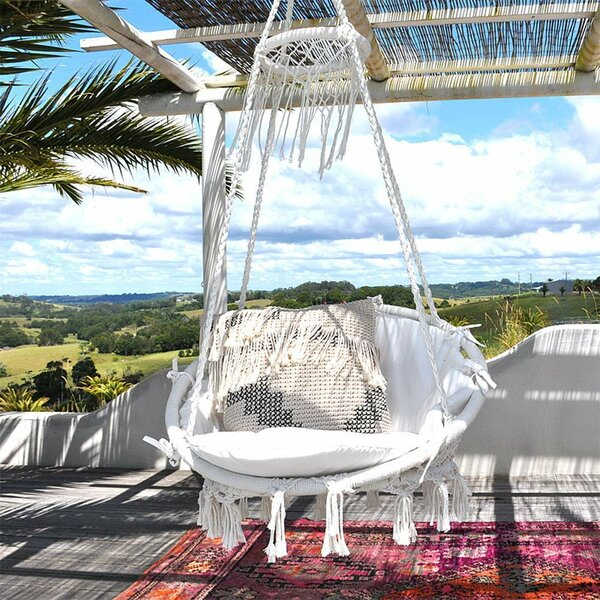 Dorothy Swing Chair by Bungalow Rose Bungalow Rose