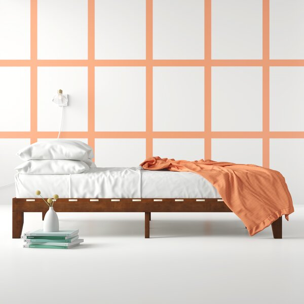 New Design Aiden Platform Bed By Hashtag Home Great Reviews