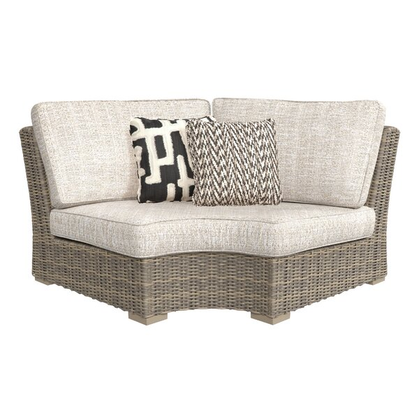 Farmersville Patio Chair with Cushions by Greyleigh