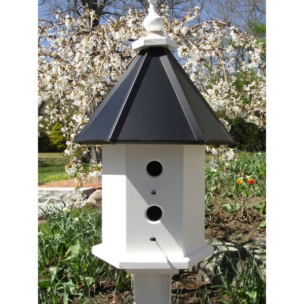 Estate 24 in x 14 in x 14 in Birdhouse by Wooden Expression Birdhouses