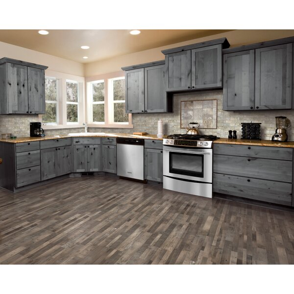 7.5 x 47.25 x 0.3mm Pine Laminate Flooring in Weathered Gray by Mohawk Flooring