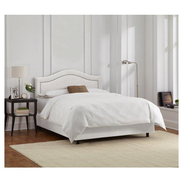 Limoges Upholstered Standard Bed by Skyline Furniture
