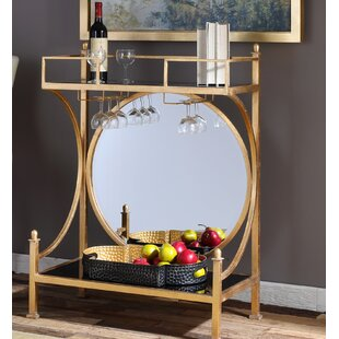 Barker Bar Console Table by House of Hampton