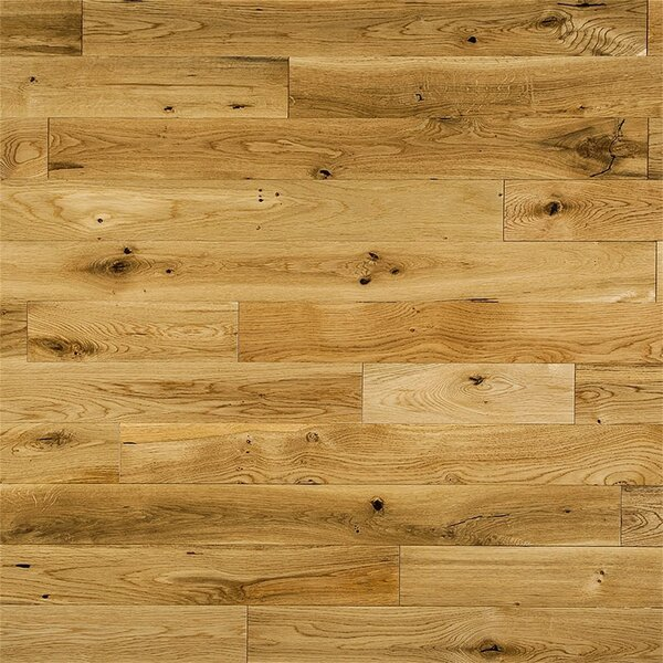 Bethany French 3-1/2 Solid Oak Hardwood Flooring in Natural by Welles Hardwood