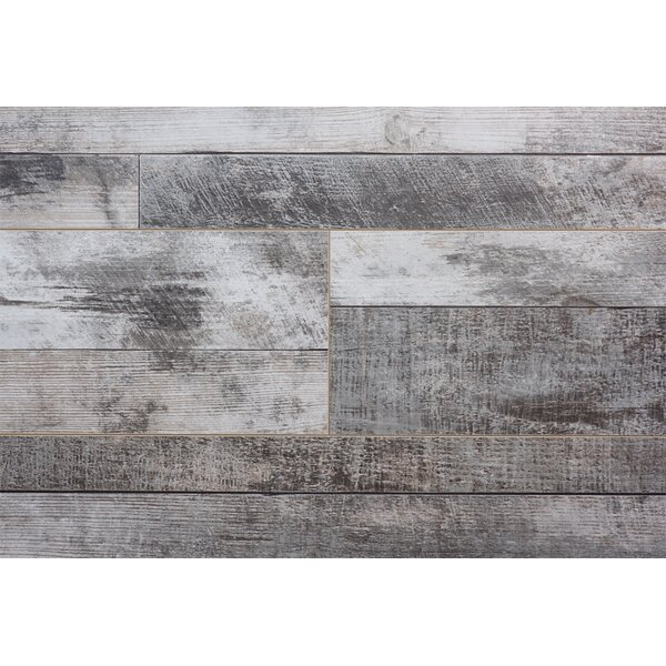 Barnwood Country 7.5 x 72 x 12.3mm Cedar Laminate Flooring by Serradon