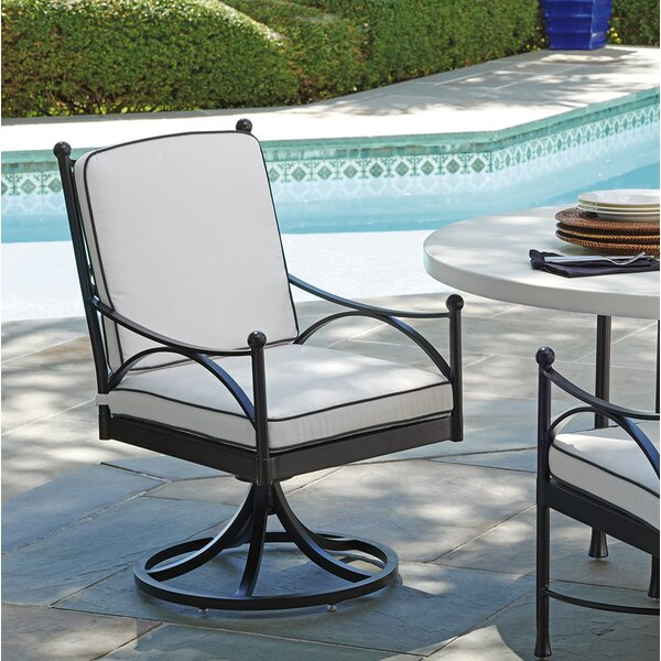 Pavlova Swivel Patio Dining Chair with Cushion by Tommy Bahama Outdoor