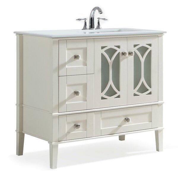 Paige 37 Single Bathroom Vanity Set by Simpli Home