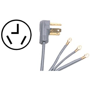 10' Universal Dryer Cord by Certified Appliances
