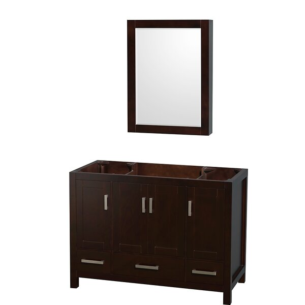 Sheffield 47 Single Bathroom Vanity Base by Wyndham Collection