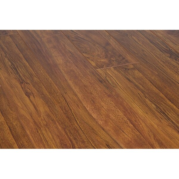 Original 47.85 x 4.96 x 15mm Laminate Flooring in Aged Bronze by Dekorman
