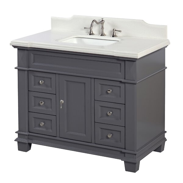Elizabeth 42 Single Bathroom Vanity Set by Kitchen Bath Collection