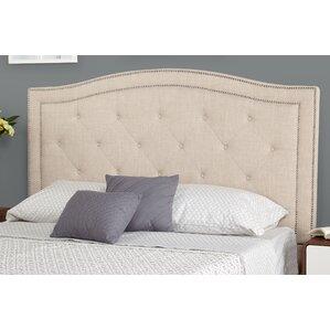 Bellomy Queen Upholstered Panel Headboard by Alcott Hill